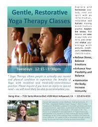 therapy classes new therapy classes