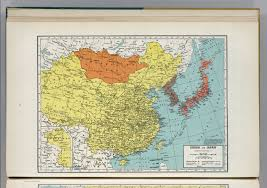 Map Of China And Japan by China And Japan David Rumsey Historical Map Collection