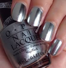 polish was completely dry i used opi black satin to stamp on a