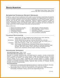 information technology resume exles exle resume entry level information technology information