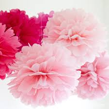 Make Your Own Paper Flowers - aliexpress com buy 10 pcs pink paper flowers ball origami