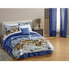 Wolf Bedding Set Fingerhut Alcove Midnight Wolves Bed Set And Accessories