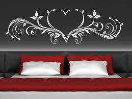 wandtatoos schlafzimmer wandtattoo herz ornament romantisch wandtattoos de