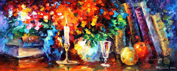 2017 leonid afremov u0027s palette knife oil paintings for dining room