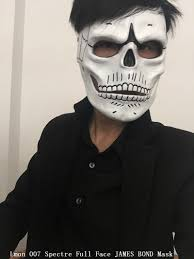 James Bond Costume Halloween Selling Halloween Party Cosplay Movies Skull Skeleton