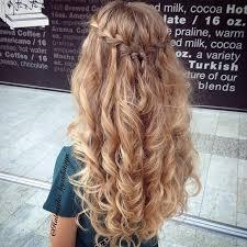 best 25 waterfall braid prom ideas on pinterest grad hairstyles
