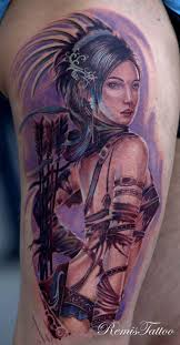 the best tattoo designs warrior woman tattoo pinterest