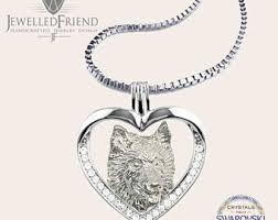 swarovski dog necklace images Jewelled friend jpg