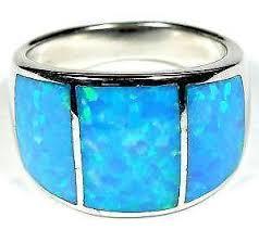 ebay rings opal images Mens opal ring ebay JPG