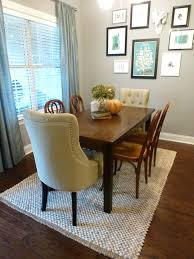 Area Rug Size by Dining Table Rug Size Under Round Dining Table Dining Sets