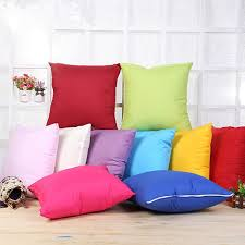 plain throw pillow cushion covers polyester pillow cover