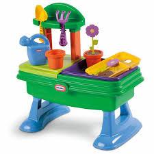 little tikes bench table garden table at little tikes