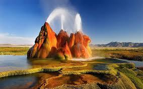 Nevada waterfalls images Beautiful waterfalls the fly geyser nevada u s a jpg
