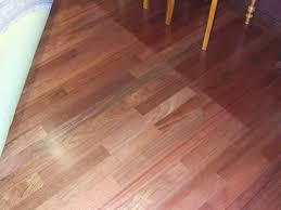 sun light causes cherry floors to darken