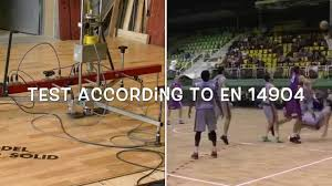 Dynamic Sports Flooring by Sports Parquet Floors Shock Absorption And Vertical Deformation