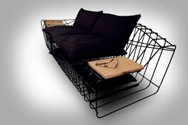 Minimalist Couch Or Sofa With Industrial Twists Sofist By Sule Koc - Minimalist sofa design