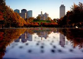 other nashville autumn cityscape tennessee state capitol