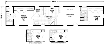 Skyline Mobile Home Floor Plans Stafford 14 X 66 902 Sqft Mobile Home Factory Expo Home Centers