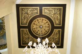 gallery murals dining ceiling