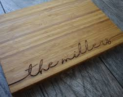 personalized cutting board personalized cutting board etsy