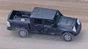 2018 jeep wrangler spy shots jeep wrangler pickup spy shots from jlwrangler