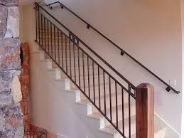 Metal Banister Rail Stair Rail Height Requirements Invisibleinkradio Home Decor