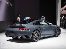 porsche metallic 2016 naias porsche 911 turbo graphite blue metallic motoring rumpus