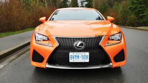 2016 lexus rc f 2016 lexus rc f test drive review