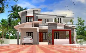 32 Square Meters To Feet 1635 Sq Ft Modern Double Floor Home U2013 Kerala Home Design