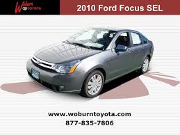 used 2010 ford focus boston used 2010 ford focus sel