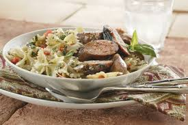 grilled sausage and pesto pasta pork recipes pork be inspired