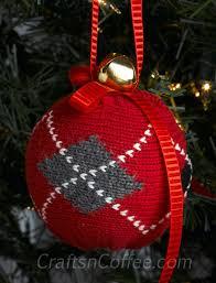 tinsel tuesdays diy a cozy sweater ornament crafts n coffee