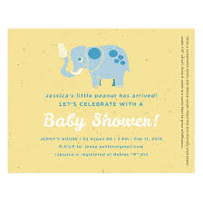 peanut baby shower peanut seed paper baby shower invitations baby shower
