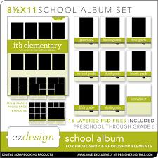 8 5 x 11 photo album a school album solution 2010 style cz design