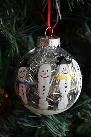 25 unique snowman handprint ornament ideas on