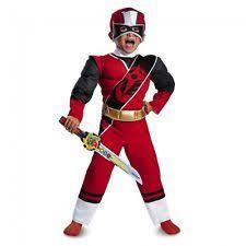 halloween costume boys disguise power rangers red ranger ninja