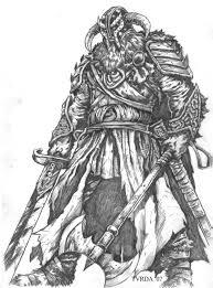 black and white helmet viking tattoo design