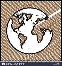 World Map Icon by World Map Illustration Drawing Stock Photos U0026 World Map