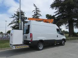 versalift et36 on iveco daily van elevated work platform van