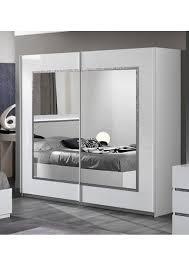 chambre blanc laqué chambre à coucher moderne blanc laqué avec strass