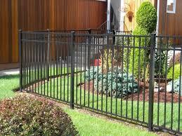 11 best fence ideas images on aluminum fence backyard
