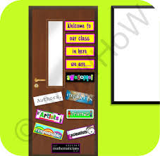 Welcome Back Decorations by Backyards Decorating Classroom Doors Door Welcome Back