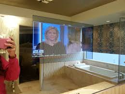 salone suite tv in bathroom mirror yelp