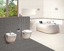 Black And White Bathroom Tile Designs Delighful Unique Mosaic Tile Designs Bathroom Ideas Sommesso