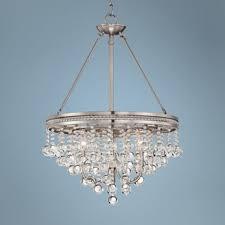 brushed nickel kitchen table 26 best lighting images on pinterest chandelier lighting