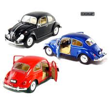 volkswagen classic car amazon com set of 3 6