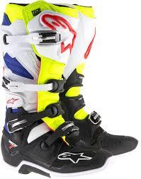 motocross boots alpinestars alpinestars tech 7 boot motocross boots motorcycle white blue black