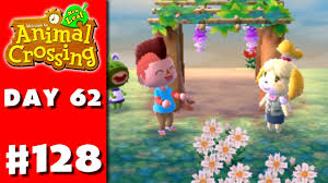 animal crossing new leaf part 128 wisteria trellis nintendo