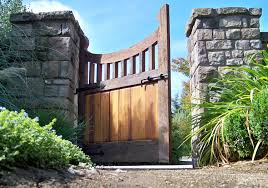 gate and fence dr post backyard landscaping ideas concrete patio