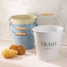 amazon com interdesign pail wastebasket trash can white home